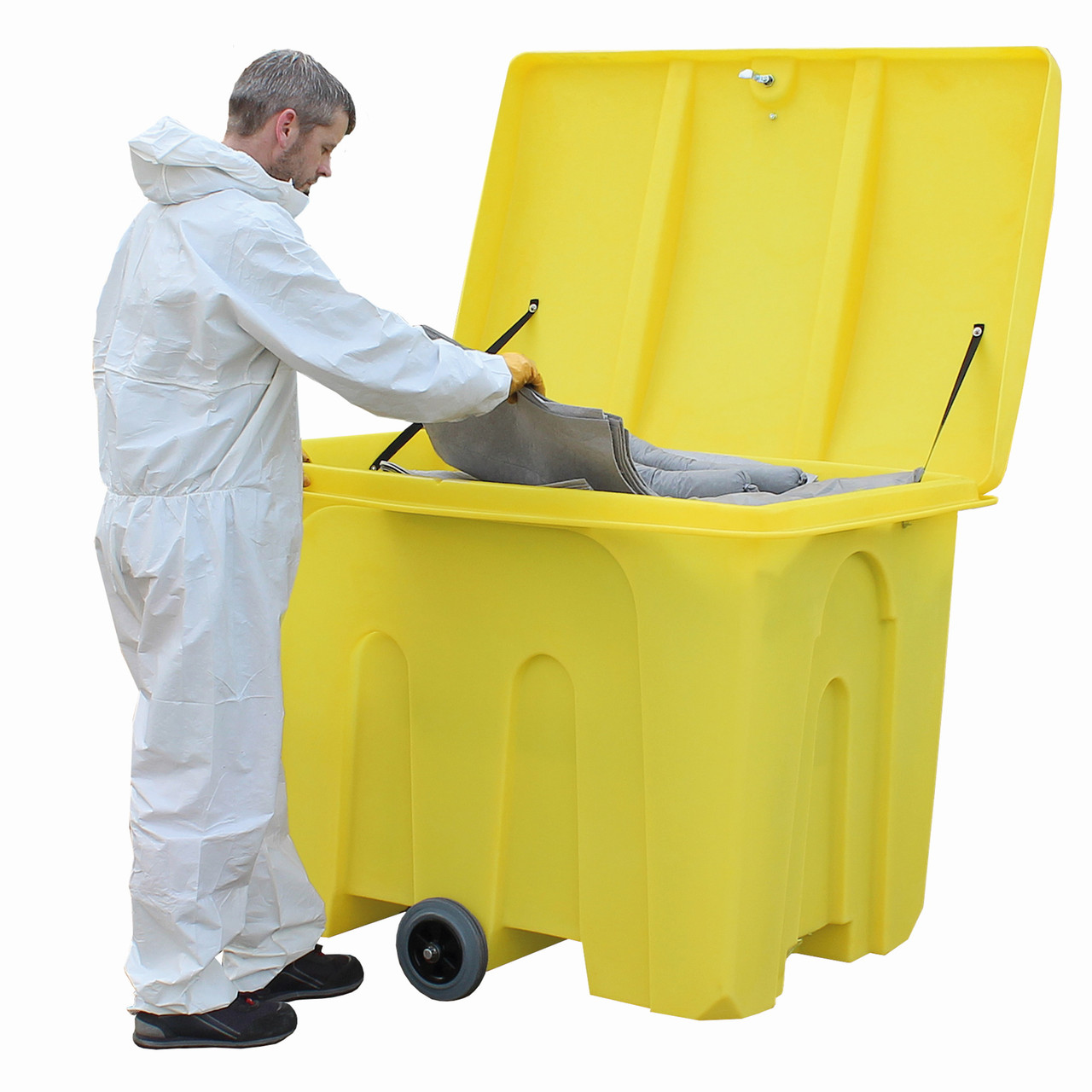 PSB2W 1000ltr General Storage Container Bin On Wheels