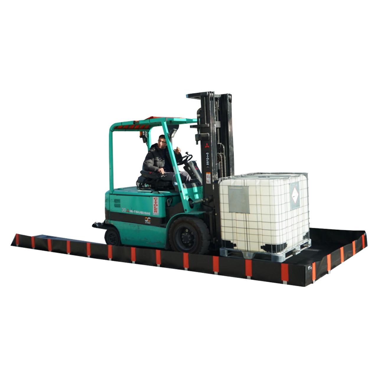 EB6 3750ltr Portable Multi Function Bund (6000x2500x250mm)