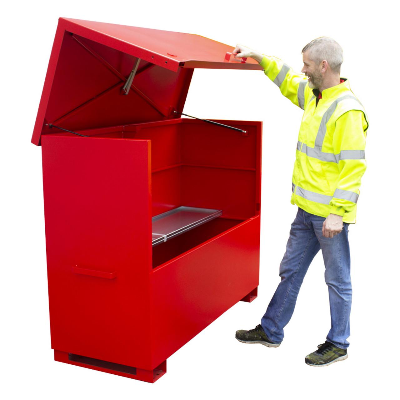 CS9 Chemstor Storage Box 1585mm x 675mm x 1278mm