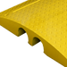 Yellow hose & cable cover access ramps