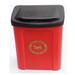 Red Apollo dog waste bin 25 Litre