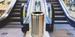 Halo 80 stainless steel metal blast resistant litter bin in situ