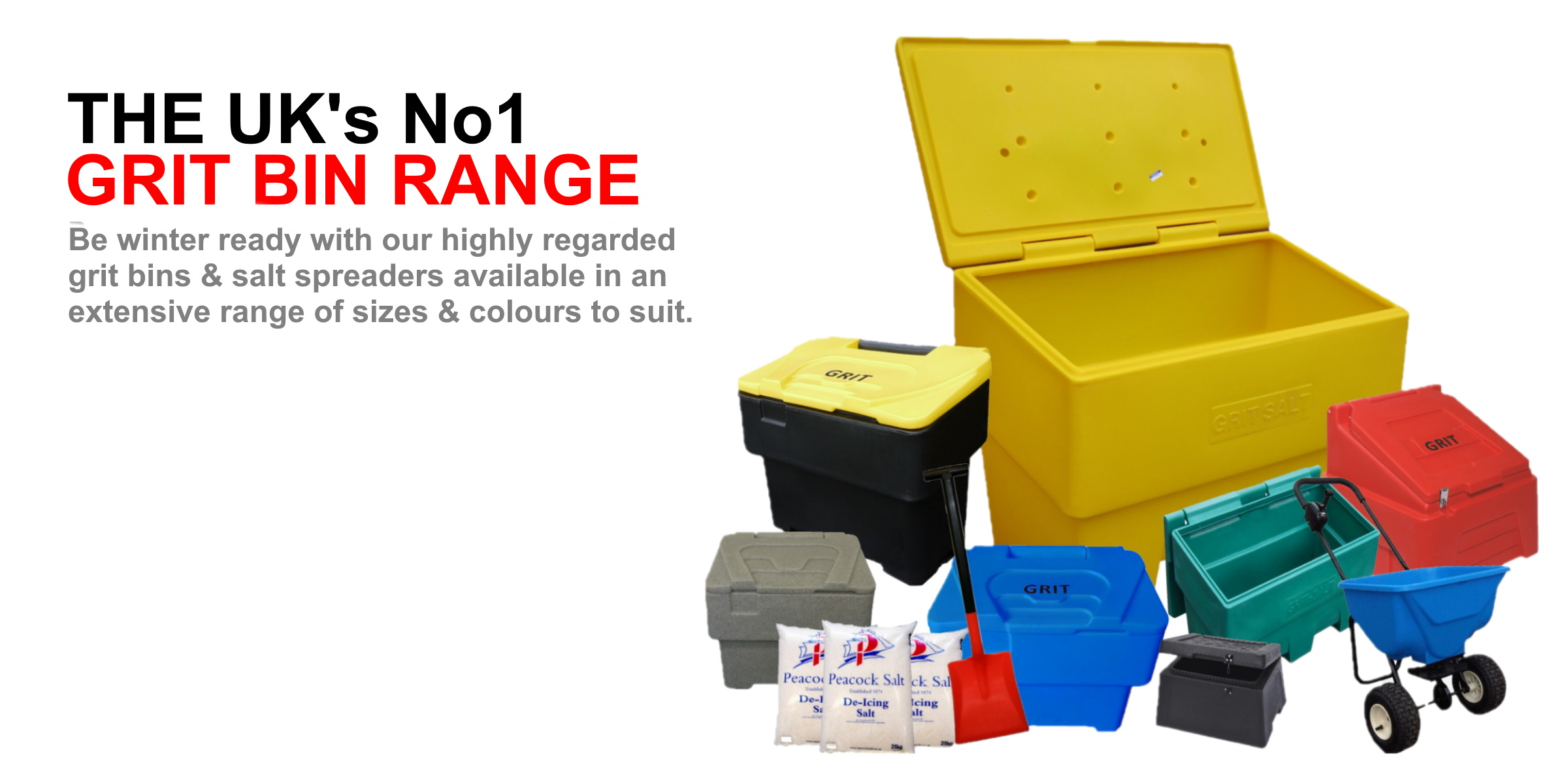 The UKs No1 grit bin range