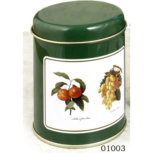 Decorated Spice Tins , set of 2