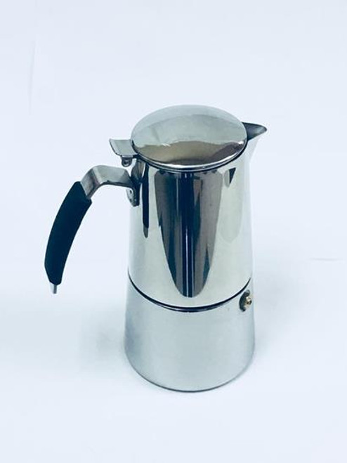 "Espresso Stove Top Stainless,  ""OMNIA"" 4 CUP"