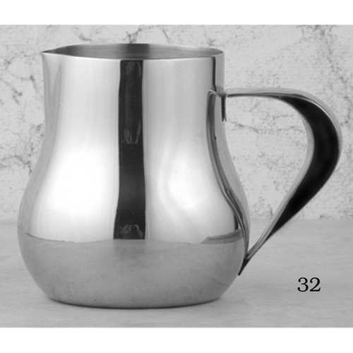 Stainless Steel milk warmer, 8 oz.