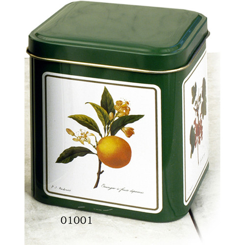 Decorated Spice Tins , set of 2 01001