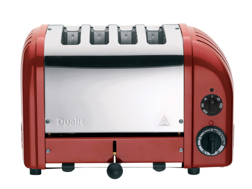 Dualit Red NewGen 4 Slice Toaster Classic