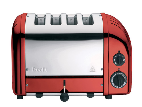 Dualit Apple Candy Red NewGen 4 Slice Toaster Classic