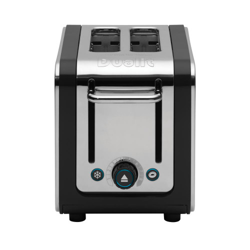 Dualit Black and Steel Design Series 2-Slice Toaster