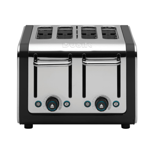 Dualit Black and Steel Design Series 4-Slice Toaster