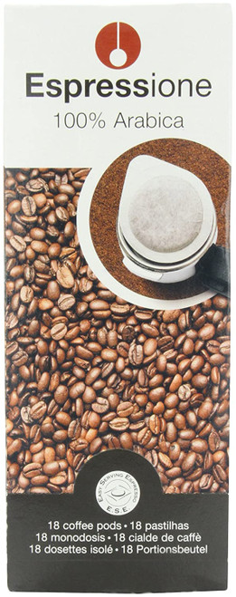 Espressione 100% arabica pods, 18 ct coffee