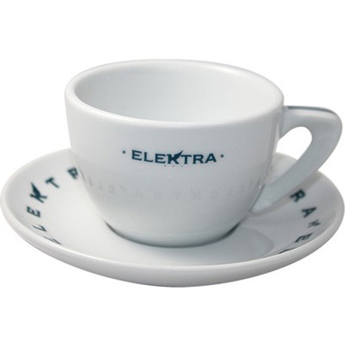 Elektra Logo Cappuccino cups – set of 6 - Blue