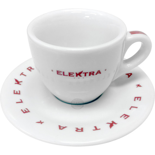 Elektra Logo Espresso cups – set of 6 - Red