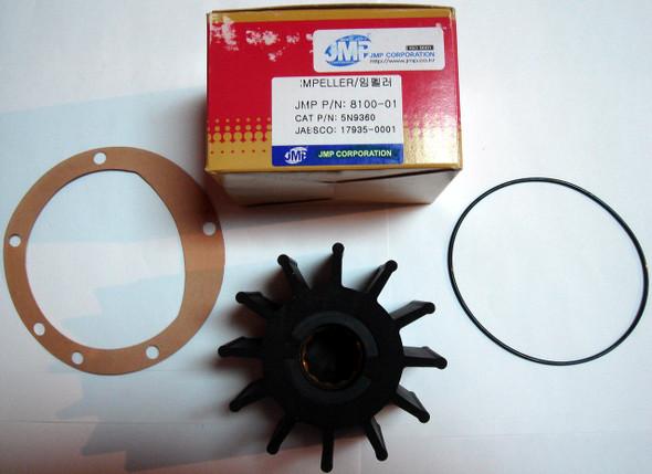 JMP Marine Impeller 8100-01K Repalce Jabsco 17935-0001 Johnson 09-819B Volvo Penta