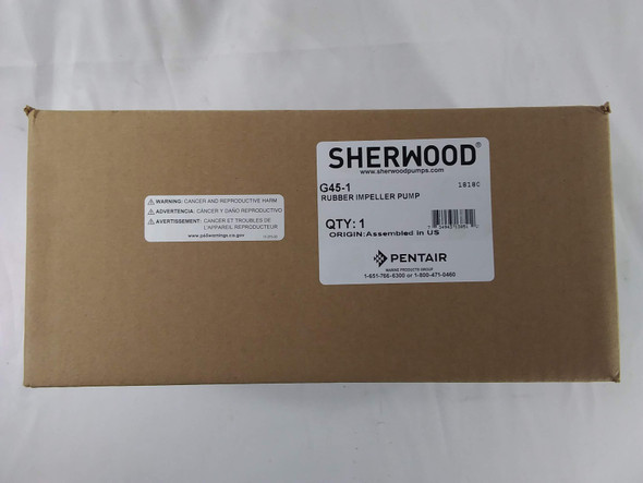 Sherwood Pump G45-1