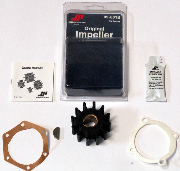 Johnson Impeller Kit 09-801B