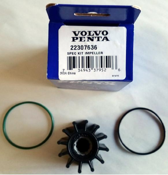 Two Pack Volvo Penta Impeller Kit 22307636