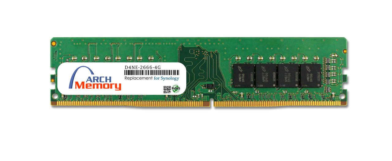 4GB  D4NE-2666-4G 288-Pin DDR4-2666 PC4-21300 UDIMM RAM | Memory for Synology