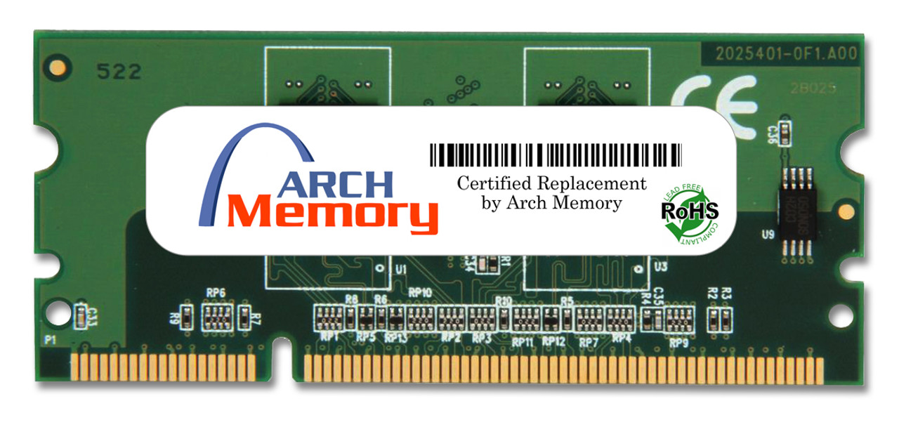 256MB 144-Pin DDR2 x32 Sodimm RAM for HP Printers (CC415A) | Arch Memory