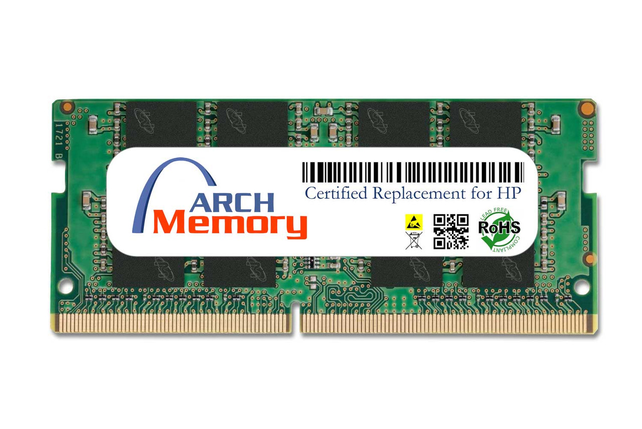 16GB 3TK84AT 260-Pin DDR4 2666MHz So-dimm RAM | Memory for HP