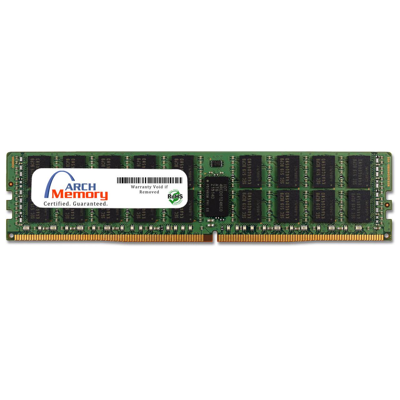 64GB 288-Pin DDR4-3200 PC4-25600 RDIMM (2Rx4) RAM   Arch Memory