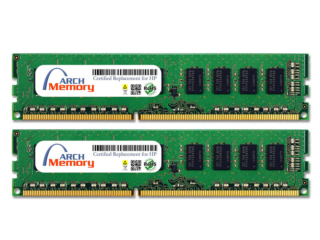 8GB A2H31AV (2 x 4GB) 240-Pin DDR3 ECC UDIMM RAM | Memory for HP