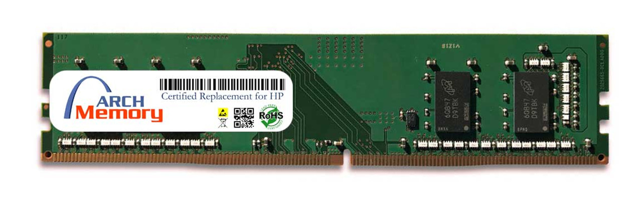 4GB T0E50AA 288-Pin DDR4 UDIMM RAM | Memory for HP