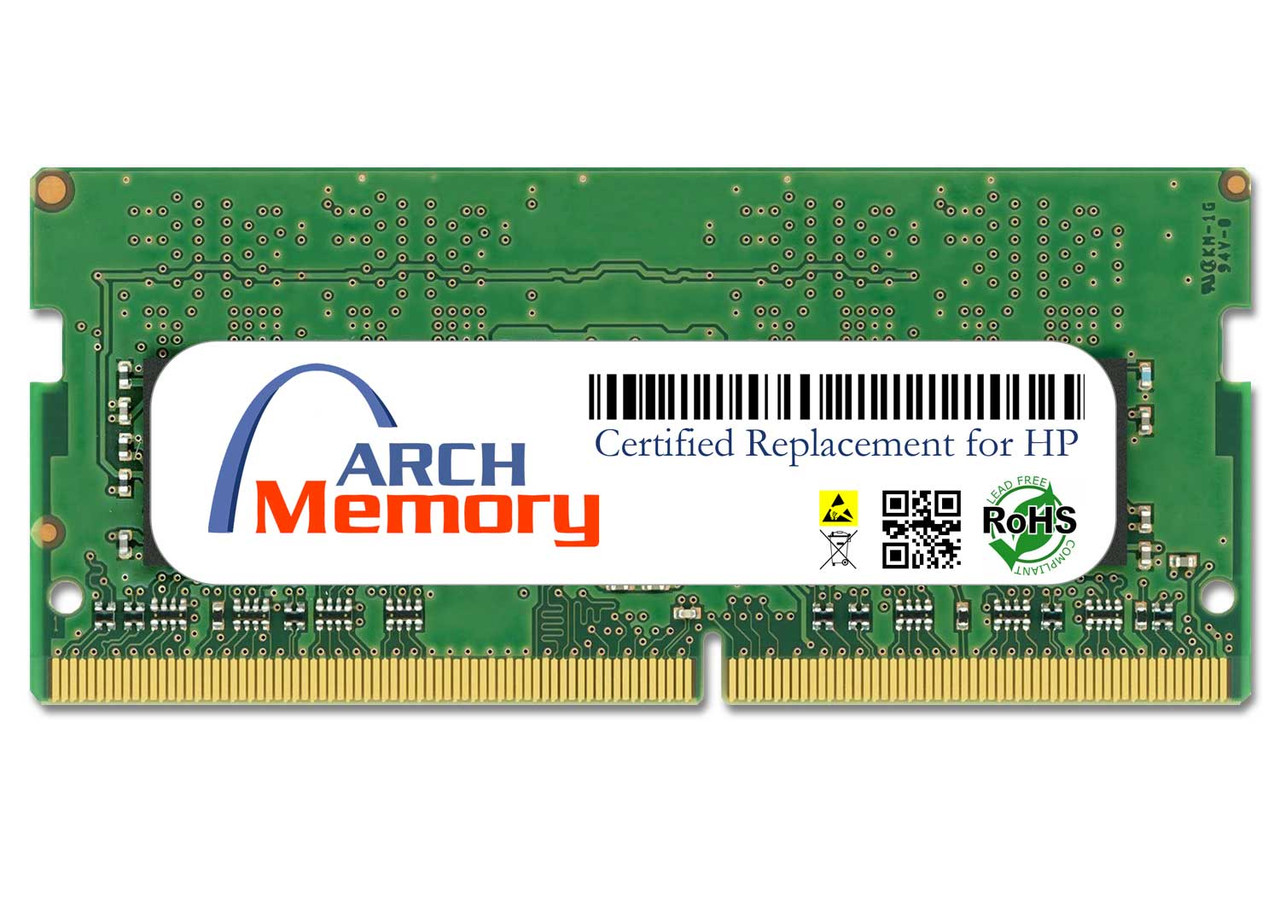 4GB T0H89AA 260-Pin DDR4 Sodimm RAM | Memory for HP