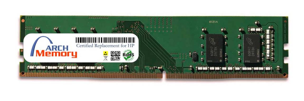 8GB T0E51AA 288-Pin DDR4 UDIMM RAM   Memory for HP