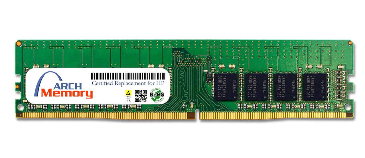 8GB 819880-B21 288-Pin DDR4 ECC UDIMM RAM   Memory for HP