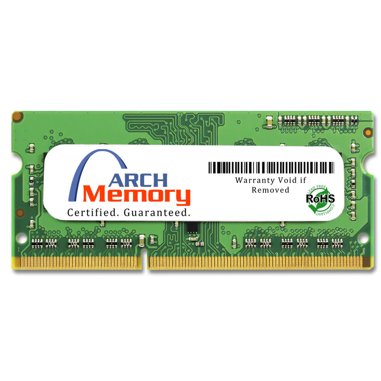 2GB 204-Pin DDR3-1333 PC3-10600 Sodimm (1Rx8) RAM | Arch Memory