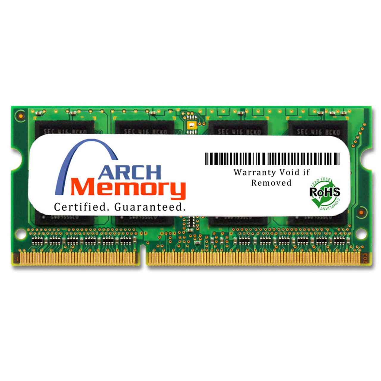 8GB 204-Pin DDR3-1600 PC3-12800 Sodimm RAM