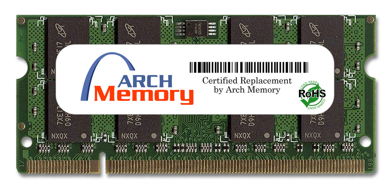 2GB 200-Pin DDR2-533 PC2-4200 Sodimm (2Rx8) RAM Arch Memory