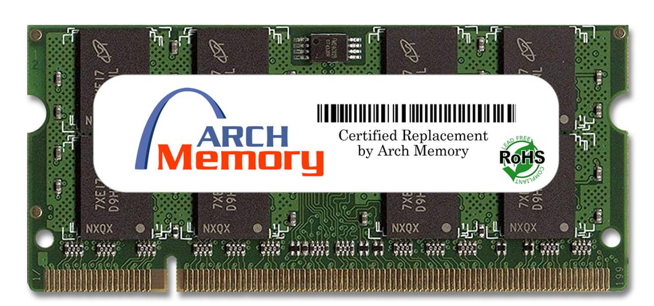 2GB 200-Pin DDR2-667 PC2-5300 Sodimm (2Rx8) RAM Arch Memory