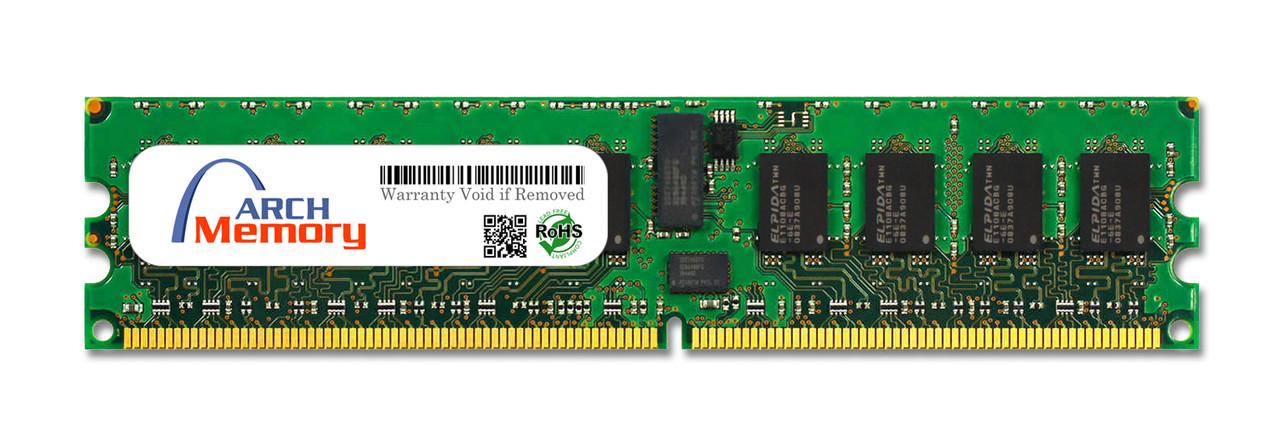 1GB 240-Pin DDR2-400 PC2-3200 ECC RDIMM (2Rx8) RAM | Arch Memory