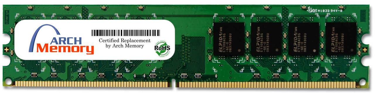 2GB 240-Pin DDR2-800 PC2-6400 ECC UDIMM (2Rx8) RAM | Arch Memory