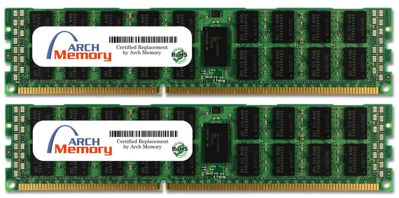 16GB (2 x 8GB) 240-Pin DDR2-667 PC2-5300 ECC RDIMM (2Rx4) RAM | Arch Memory