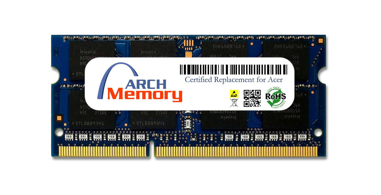 4GB 204-Pin DDR3L-1600 PC3L-12800 Sodimm RAM | Memory for Acer