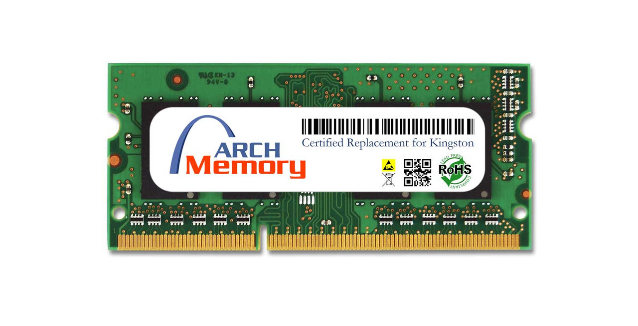 4GB KVR13S9S8/4 204-Pin DDR3 1333 MHz SODIMM RAM   Kingston Replacement Memory