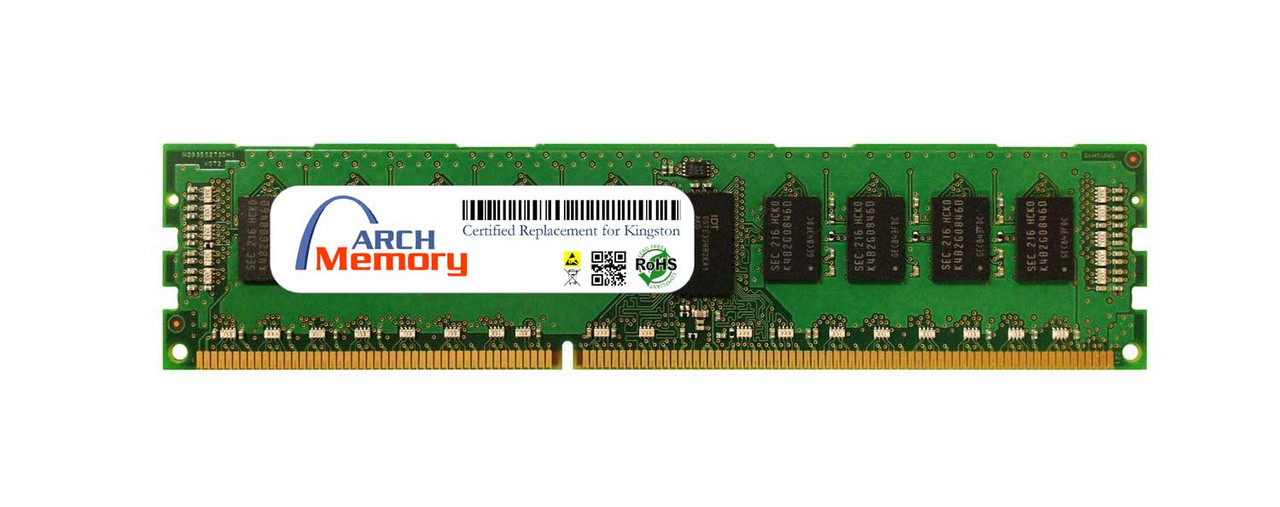 4GB D51272K111S8 DDR3 1600MHz 240-Pin ECC RDIMM RAM | Kingston Replacement Memory
