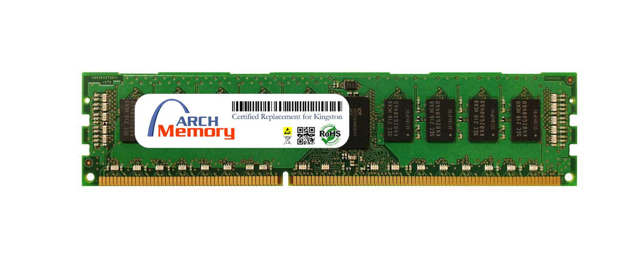 8GB KTD-PE316LV/8G DDR3L 1600MHz 240-Pin ECC RDIMM Server RAM   Kingston Replacement Memory