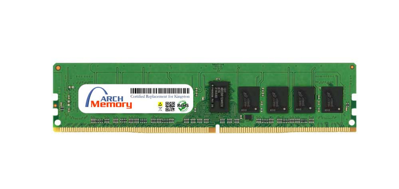 8GB KSM26RS8/8HCI 288-Pin DDR4 2666 MHz ECC RDIMM Server RAM | Kingston Replacement Memory