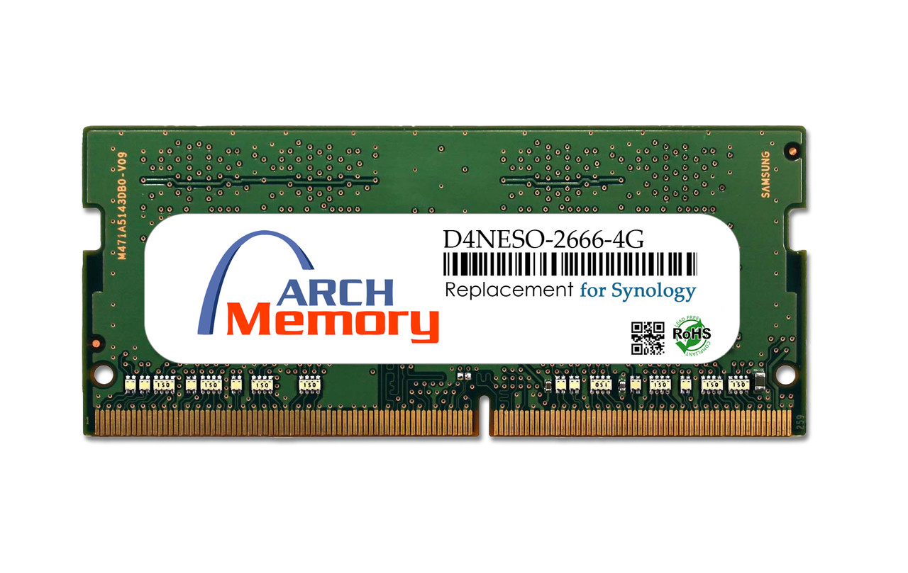 4GB D4NESO-2666-4G DDR4 260-Pin Sodimm RAM | Memory for Synology