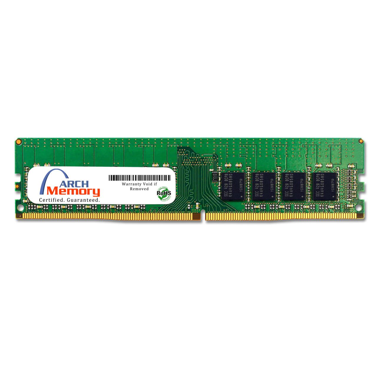 16GB 288-Pin DDR4-2400 PC4-19200 ECC UDIMM (2Rx8) RAM | Arch Memory