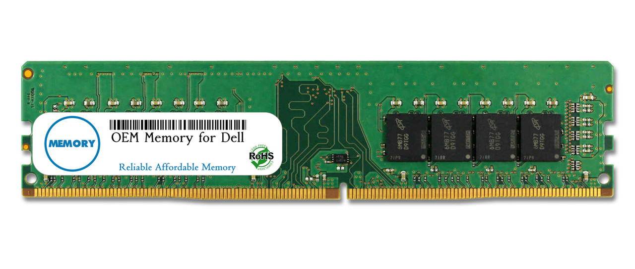 16GB SNPTP9W1C/16G AA101753 288-Pin DDR4-2666 PC4-21300 UDIMM RAM | OEM Memory for Dell