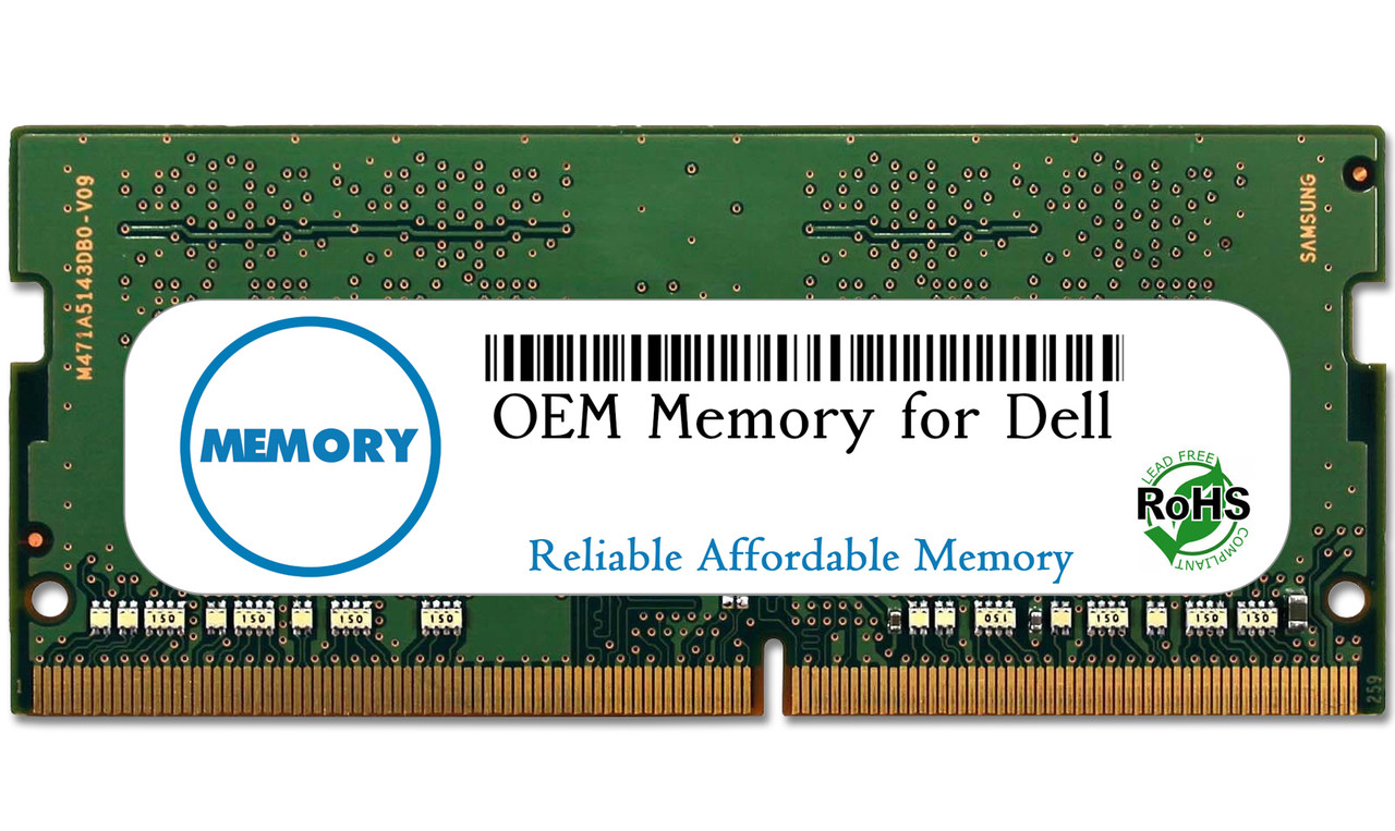 4GB SNPKN2NMC/4G AA086413 260-Pin DDR4-2666 PC4-21300 Sodimm RAM | OEM Memory for Dell