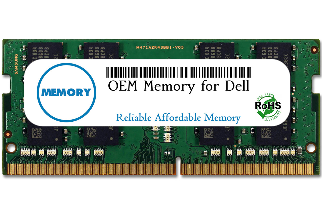 16GB SNP47J5JC/16G A8650534 260-Pin DDR4-2133 PC4-17000 Sodimm RAM | OEM Memory for Dell