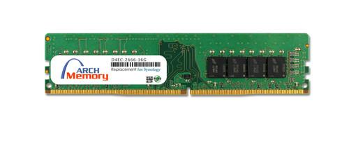 16GB D4EC-2666-16G 288-Pin DDR4-2666 PC4-21300 ECC UDIMM RAM | Memory for Synology