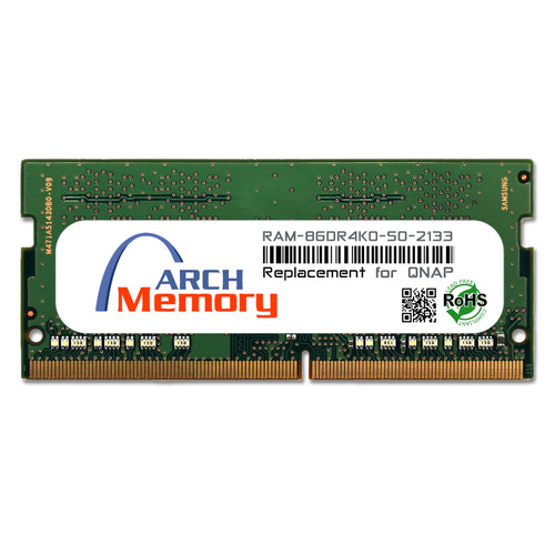 8GB RAM-8GDR4K0-SO-2133 DDR4-2133 PC4-17000 260-Pin SODIMM RAM | Memory for QNAP